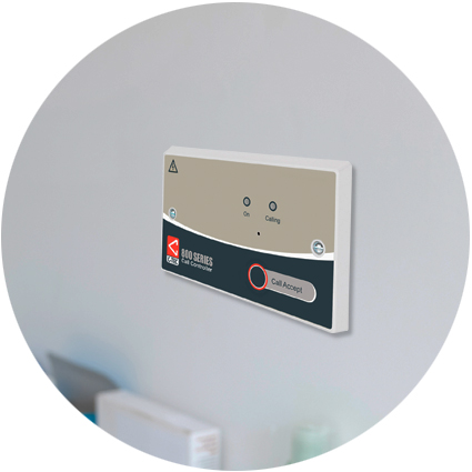 C-tec's controller unit installed on a wall